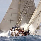 Velsheda & Ranger, Antigua Classics 2010 © Onne van der Wal