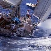 Ranger & Endeavour, Antigua Classic Yacht Regatta © Cory Silken