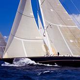 Velsheda & Ranger, Antigua Classic Yacht Regatta © Cory Silken