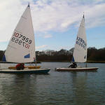 Winter Dinghy Sailing