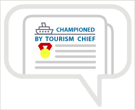 chanpioned by tourism chief