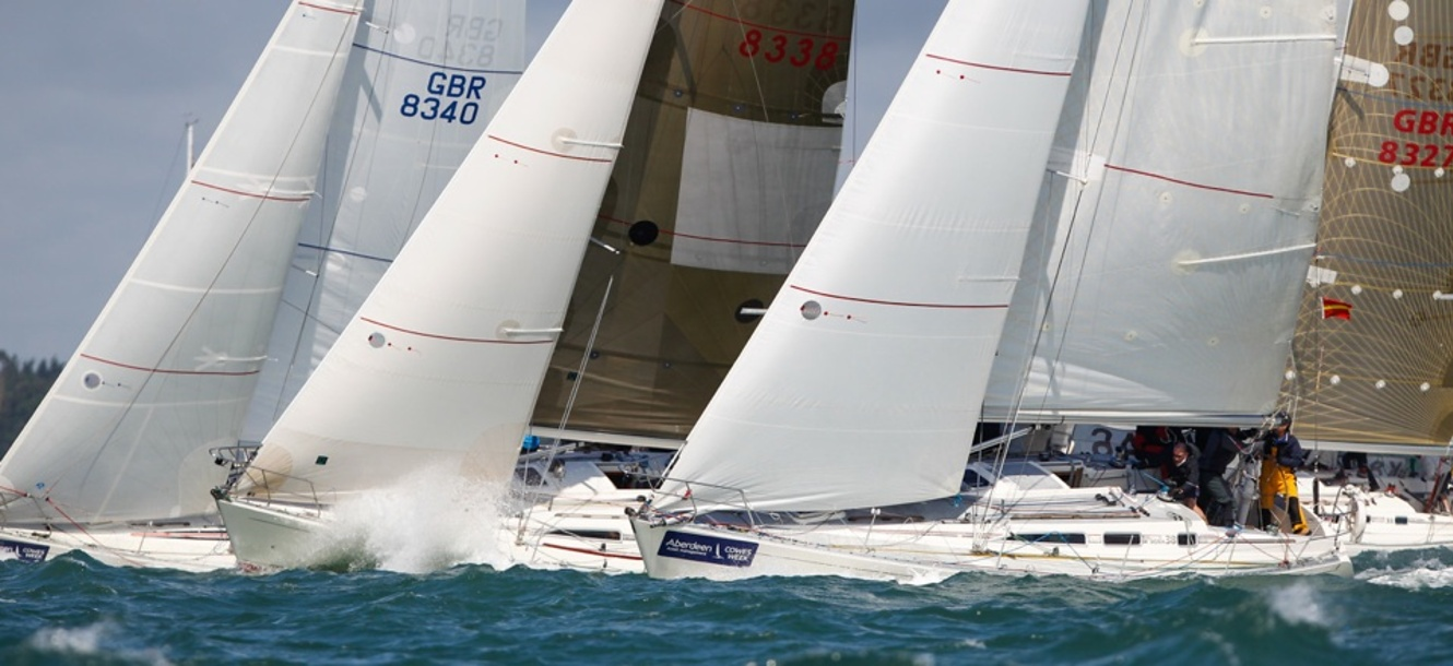 Cowes Week 2013, Day 1