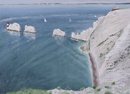 3 boats head out thro' the needles channel