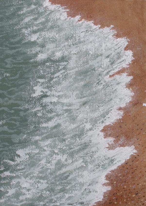 Wave and shingle