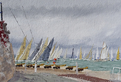 Class 2 start, Race 3, Little Britain cup, Cowes