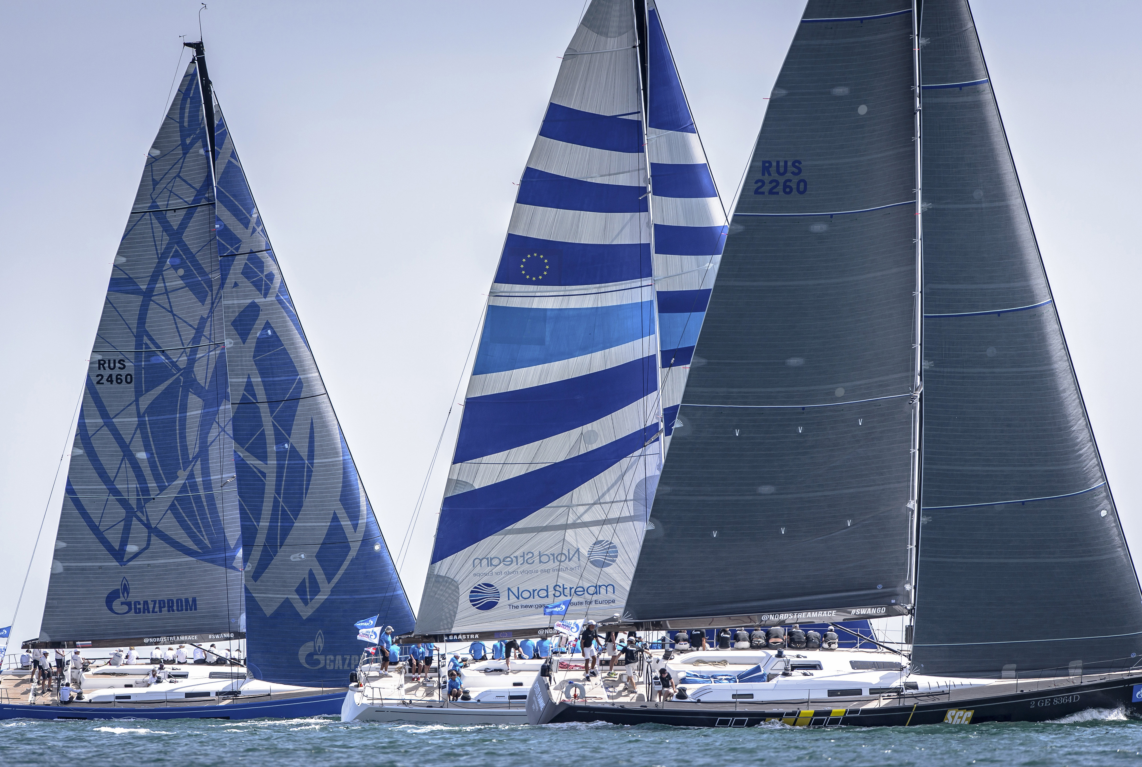 Swan 60 fleet at the GS60 World Championship 2013 ©Nautor's Swan/Kurt Arrigo