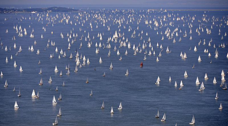 Round the Island Race 2014