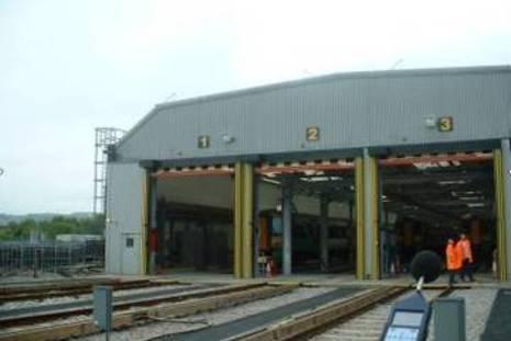 Rail depot noise nuisance