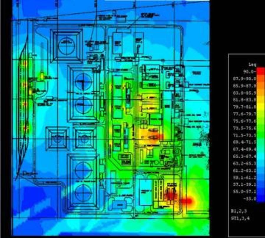 Khartoum North Power Station Sudan Noise Management