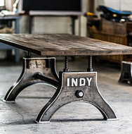 Industrial Refectory Dining Table Furniture