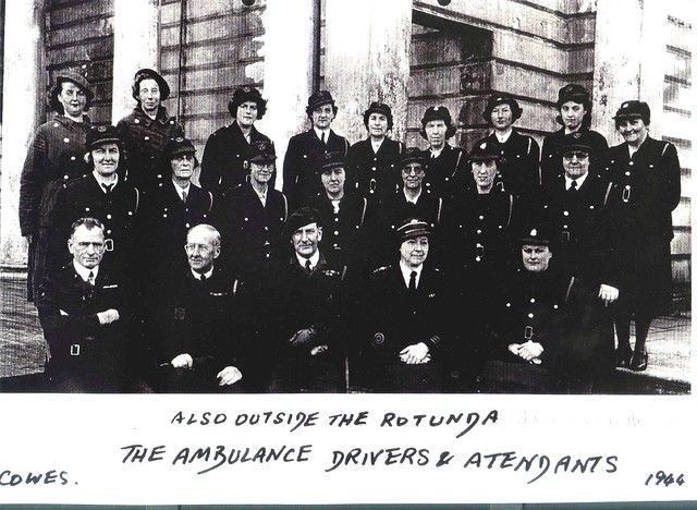 Ambulance drivers 1944.