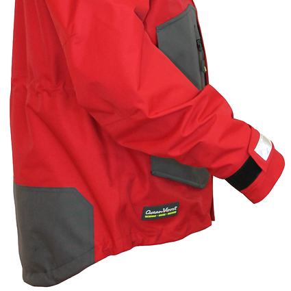 Jacket - Red, Side