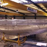 Hull in build