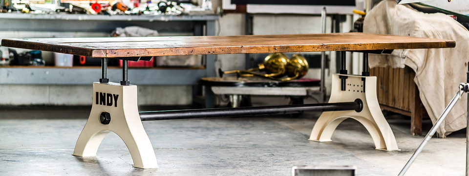 Industrial Refectory Table