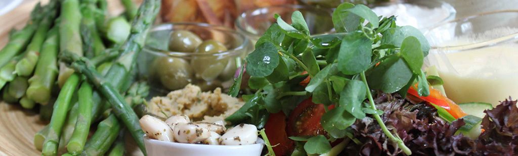 Asparagus platter
