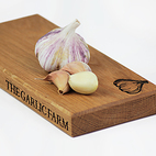 Chopping board for garlic