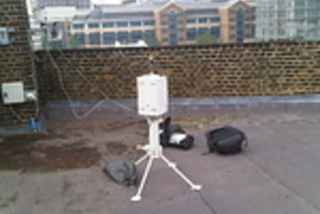 Central London air quality monitoring