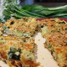 wild garlic tart