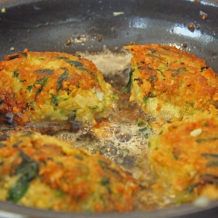 Wild Garlic Falafel Recipe