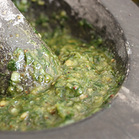 wild garlic pesto 1