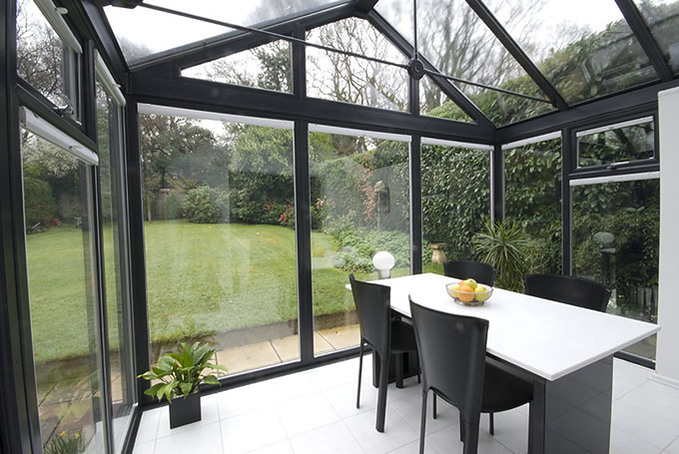 Contemporary Grey Conservatory Contemporary Bjh