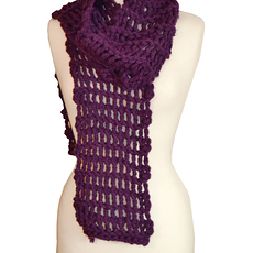 Scarf_Purple
