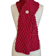 Scarf_Red_Button