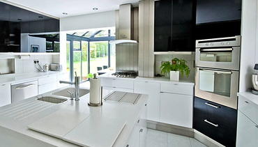 Contemporary Bespoke Aluminium Double Glazed Windows