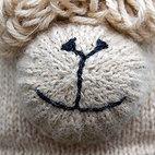 Alpaca Hat muzzle detail