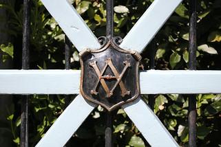 Victoria and Albert's Estate Gates