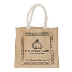 The Garlic Farm Hessian Shopper