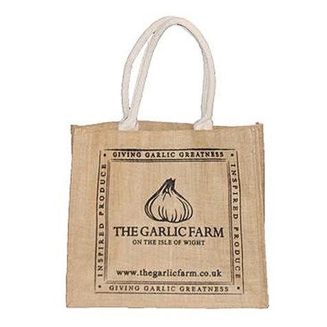 The Garlic Farm Hessian Shopper