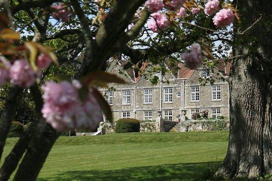 Barton Manor on a spring morning
