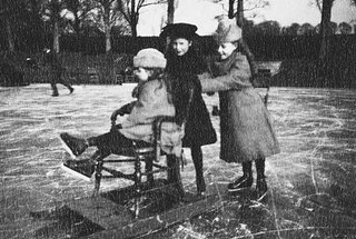 Ice Skating in Barton Water Garden, 1891