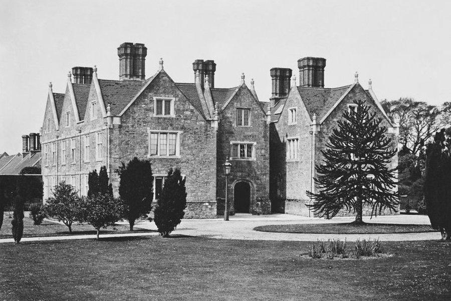 Barton Manor Queen's Entrance c.1875