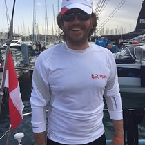 Paolo Persi del Marmo navigator onboard Spirit of Europe