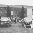 Barton classic car wedding