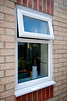 Simple white window