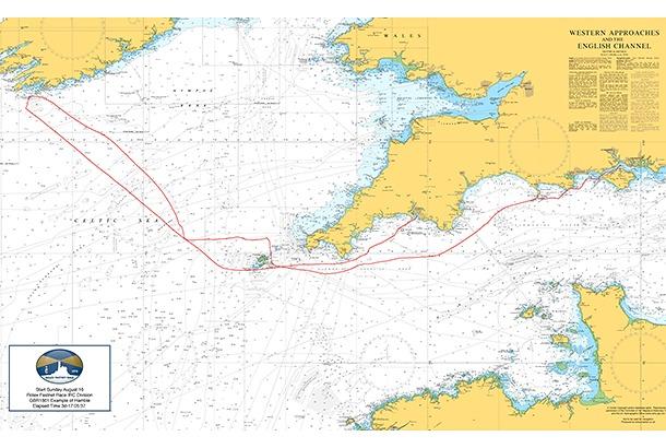 Fastnet chart