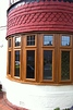 Bay window - Oak effect Upvc