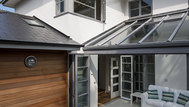 Contemporary Grey Conservatory