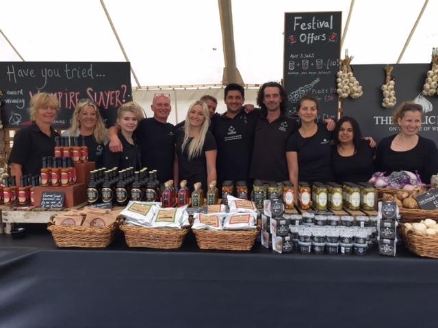 Garlic Festival team 2015