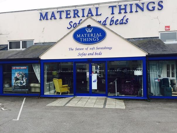 Electric Sliding Aluminium Doors and Shop Front to Retail Premises.
