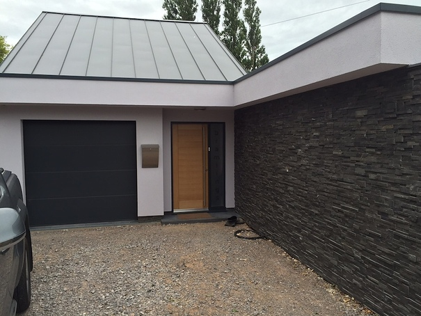 Modern New Build Front Entrance