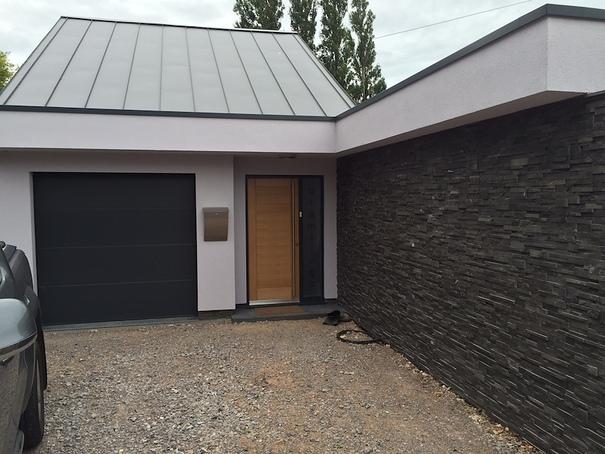 Modern New Build Front Entrance