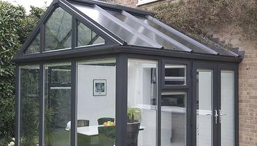Grey conservatory