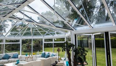 Vertical conservatory shot