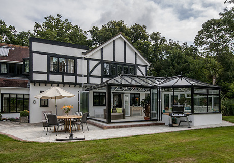 Impressive conservatory