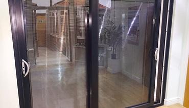 Schuco Aluminium Patio Doors