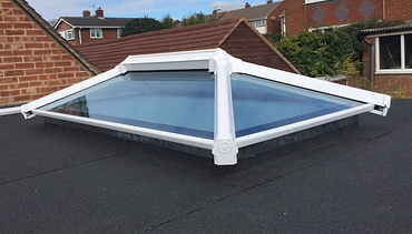 Atruim roof can be set into an existing flat roof